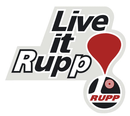 "RUPP ""Live It Up"" Logo Decal"
