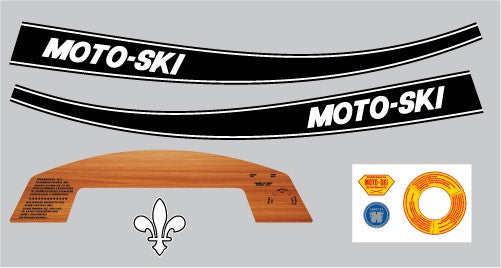 1970 Moto-Ski Grand Prix Set
