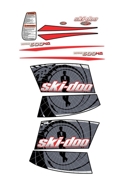 Ski-Doo James Bond Theme Decal Kit