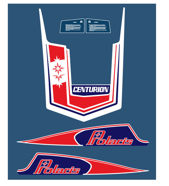 1979 Polaris Centurion Hood Decals