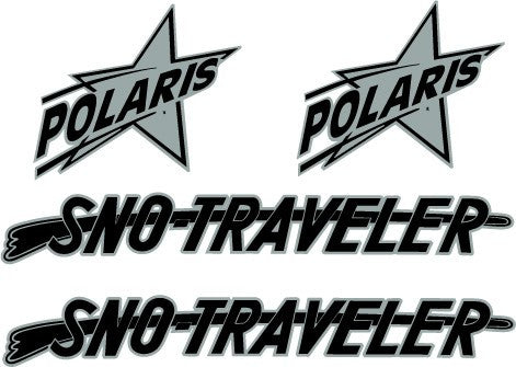 1965 Polaris Super Mountaineer Decal Set