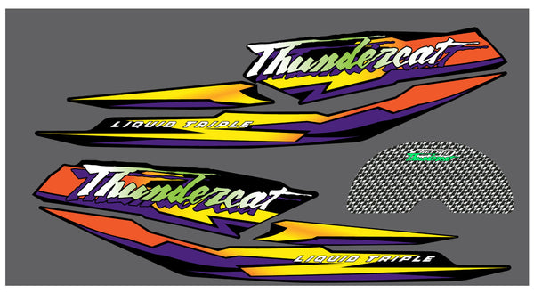 1998 Arctic Cat Thundercat Hood Decals