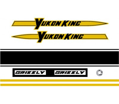 1969 Yukon King Decal Set
