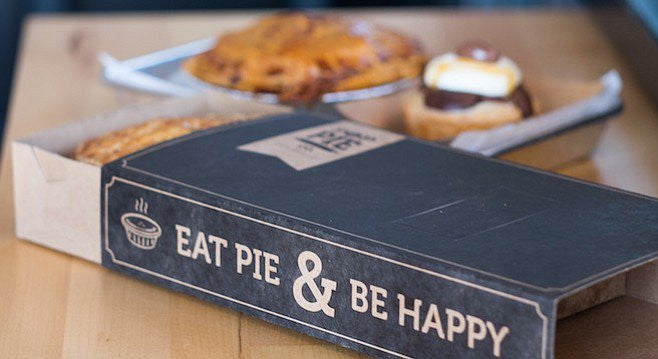 San Diego Reader: Buzzy eatery embraces flaky concept.... The proof is in the pie crust