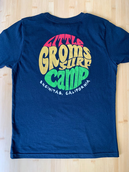 Little Groms Surf Camp- Throwback Design