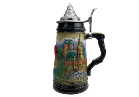Beer Steins with Lid