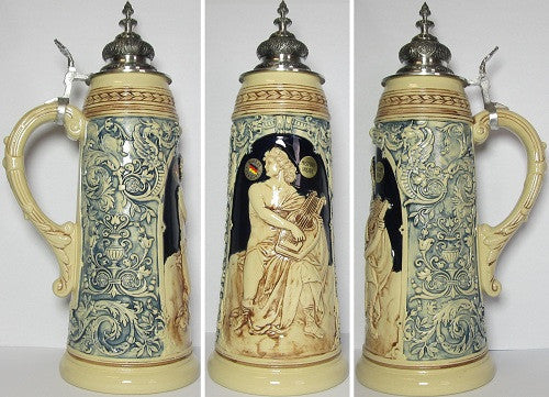 2 Liter Limitaet Apollo German Beer Stein