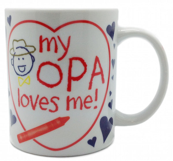 Gift From Opa Ceramic Coffee Mug