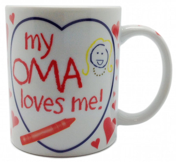 Gift From Oma Ceramic Coffee Mug Gift