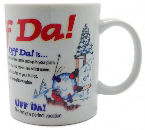Uff Da Translation Coffee Cup