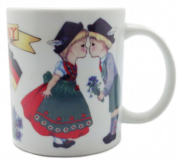I Love Germany Coffee Cup