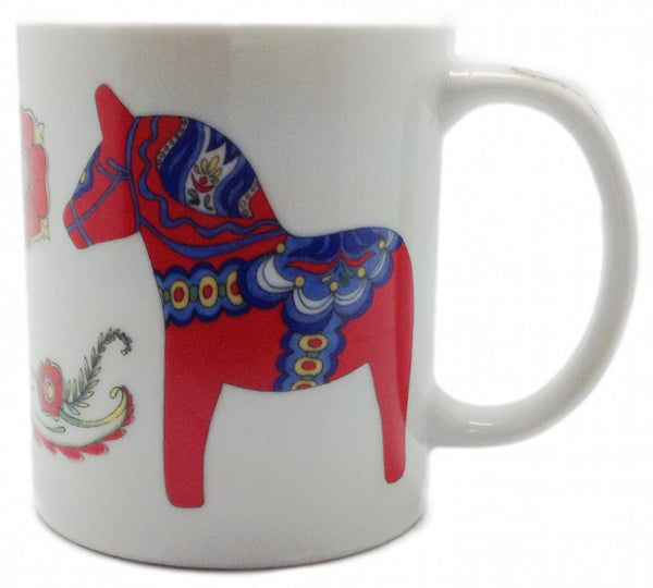 Dala Horse Coffee Cup