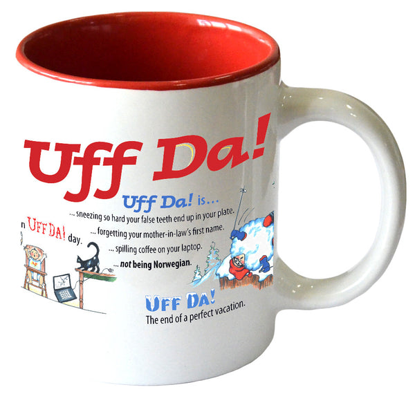 Uff Da! Funny Ceramic Coffee Mug