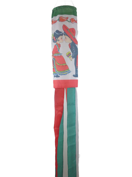 Heritage Polyester Wind Sock: Mexico