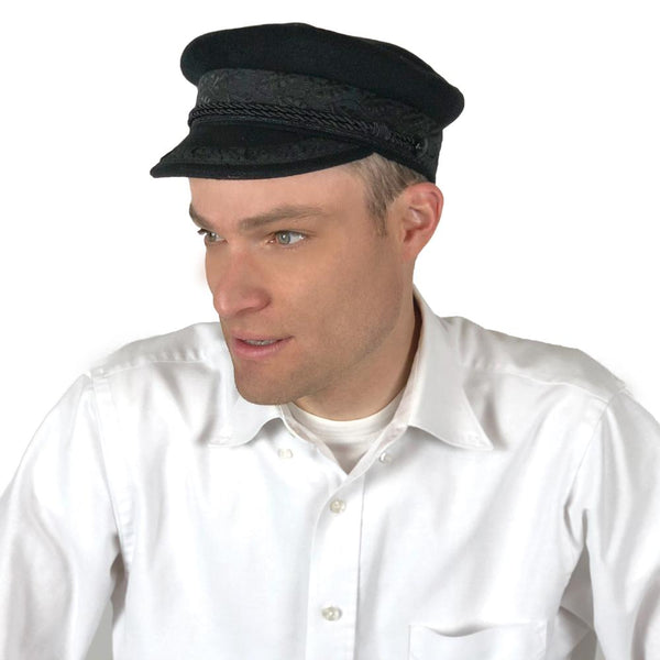Deluxe Wool Greek Fisherman Hat