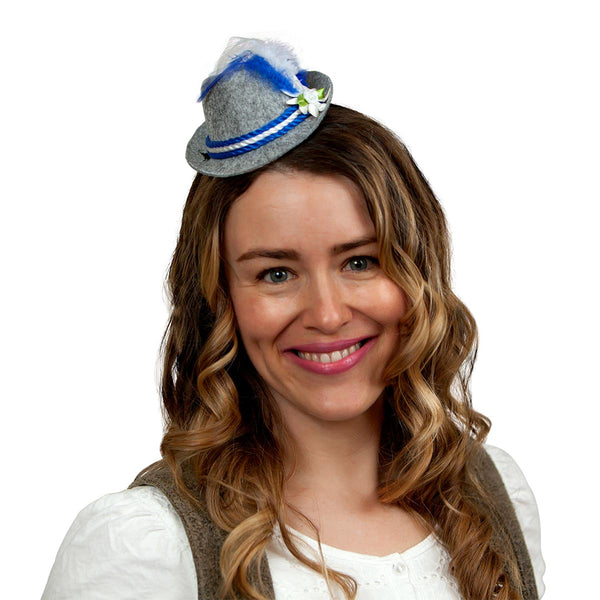 Mini Party Festival: Hat with Blue Trim