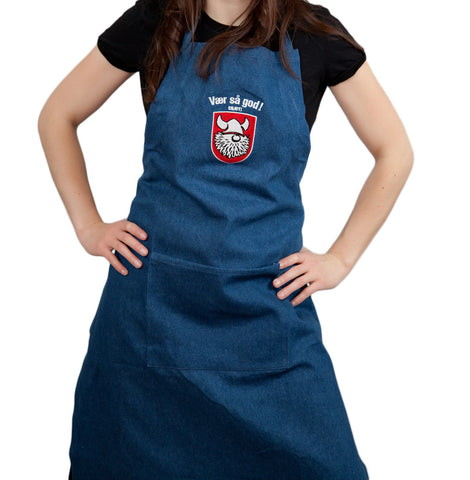 Norwegian Store Item Vaer Sa God! Apron