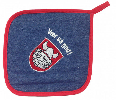 Norwegian Store Item Vaer Sa God! Potholder