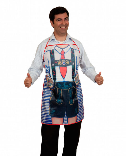 Oktoberfest German Party Apron Bavarian Man Print Design