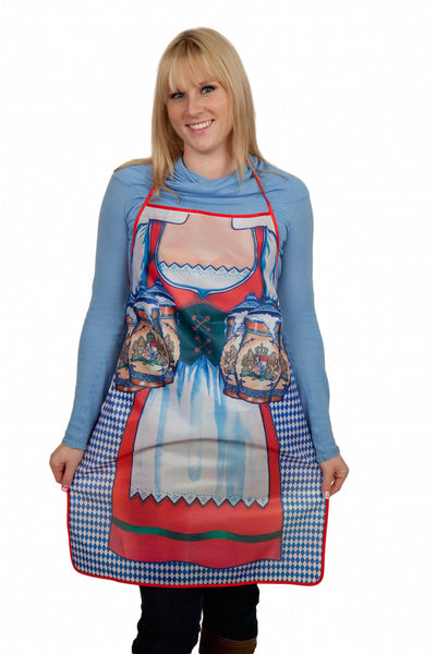 Oktoberfest German Party Apron Bavarian Woman Print Design