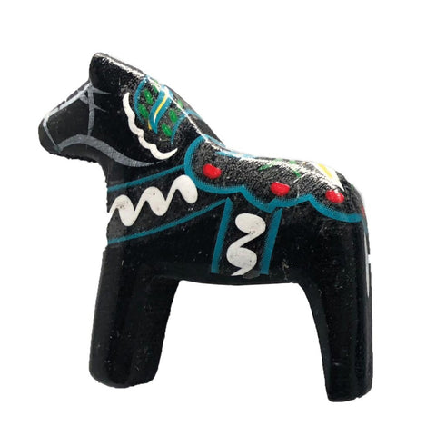 Black Swedish Horse Kitchen Unique Magnet Gift