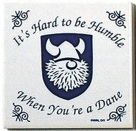 Danish Culture Tile Magnet (Humble Dane)