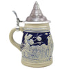 Berlin Germany Stein with Landmarks .75L Lidded Stein