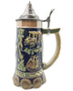 German Beer Purity Law .85L Beer Stein with Metal Lid