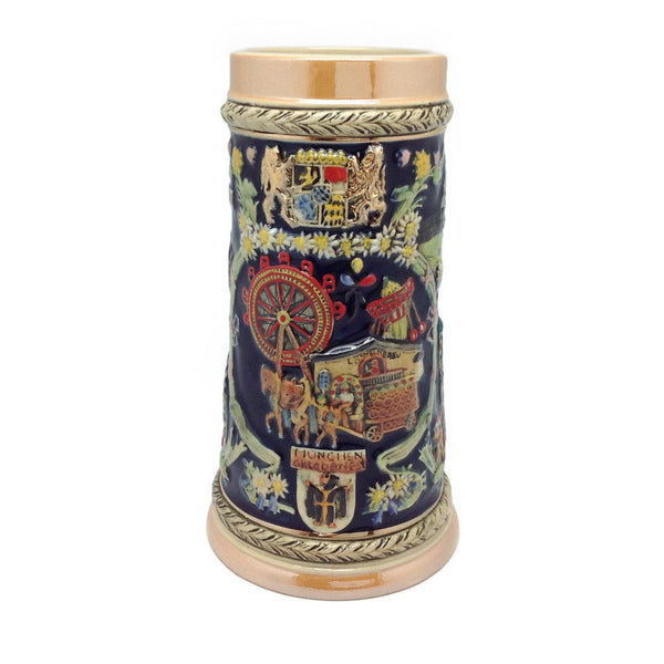 Oktoberfest Ferris Wheel German Towns Beer Stein