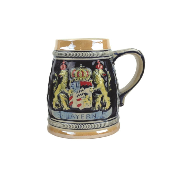 Bayern Coat of Arms Engraved Bier Stein