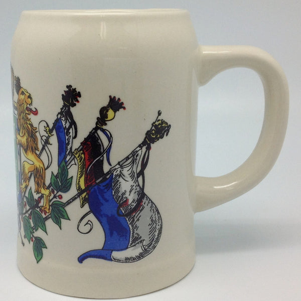 Porcelain Beer Stein German Gift For Oma