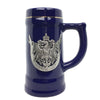 German Eagle Metal Medallion .75L Ceramic Beer Stein