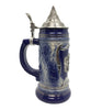 Engraved Ceramic Lidded Beer Stein .75L Bayern Medallion