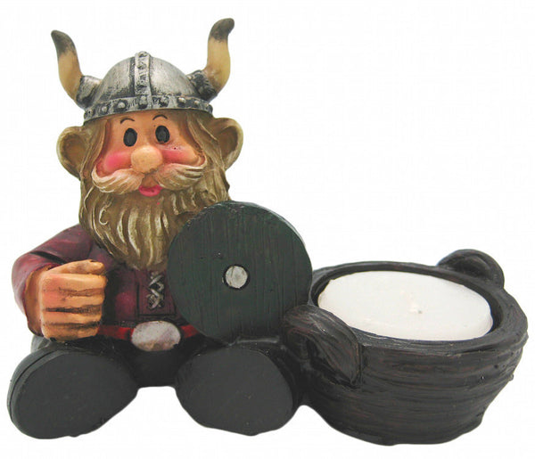 Norwegian Gift Idea Viking Figurine Sitting Viking Man