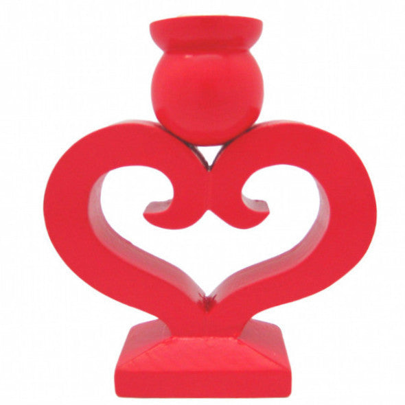 Swedish Wedding Heart Design Candle Holder