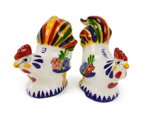 Collectible Salt and Pepper Set Roosters