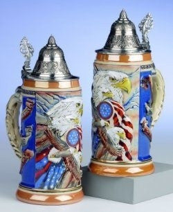 Eagle of Freedom German Beer Stein