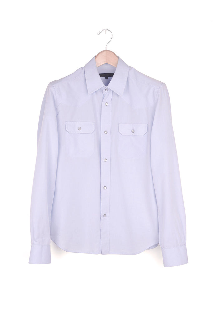 2004 S/S WESTERN SHIRT WITH PEARL BUTTONS