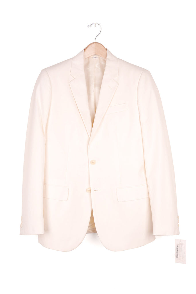 2001 S/S OFF-WHITE BLAZER IN FRESCO COTTON