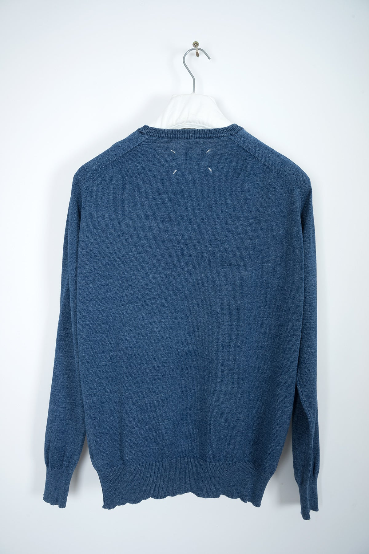 2001 S/S FAUX DENIM SWEATER IN COTTON BY MISS DEANNA