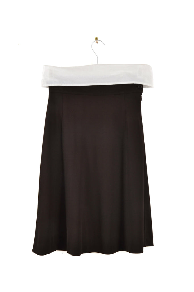 1995 A/W SKIRT WITH SIDE BUTTON CLOSURE