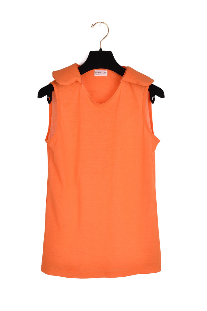 1999 A/W SAFETY ORANGE ASTRO TOP WITH NECK-REST COLLAR