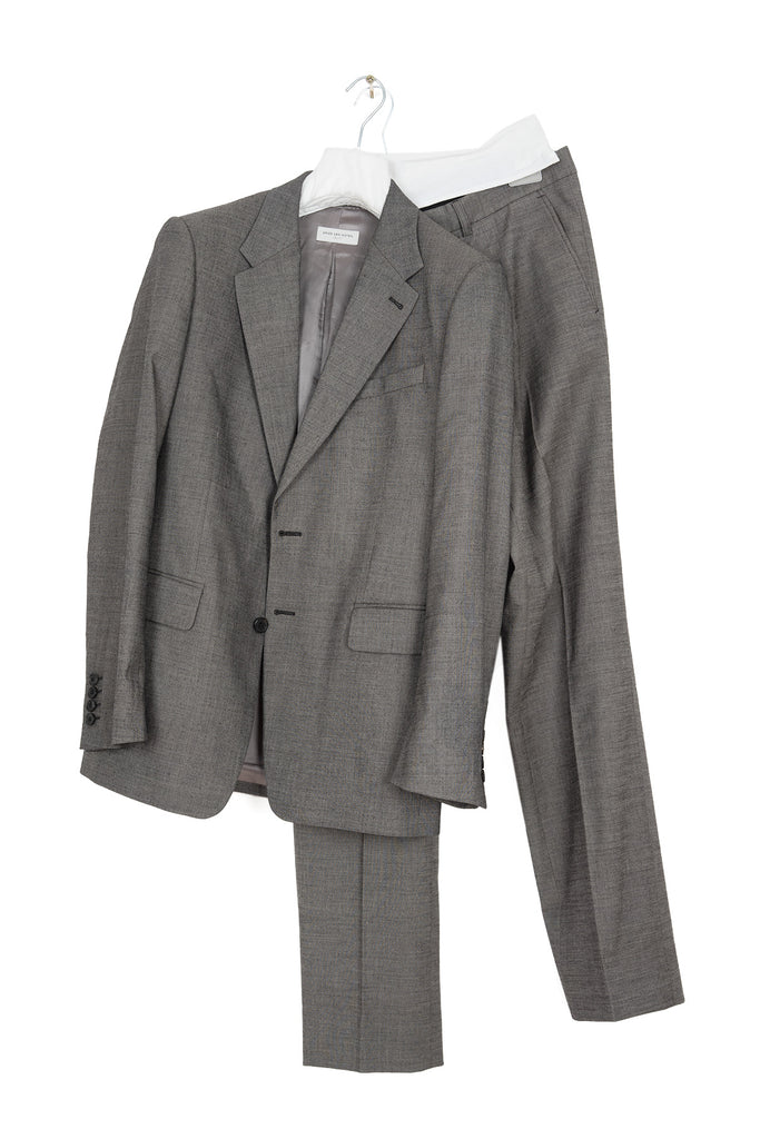 2006 A/W 2-BUTTON SUIT IN WOOL AND COTTON