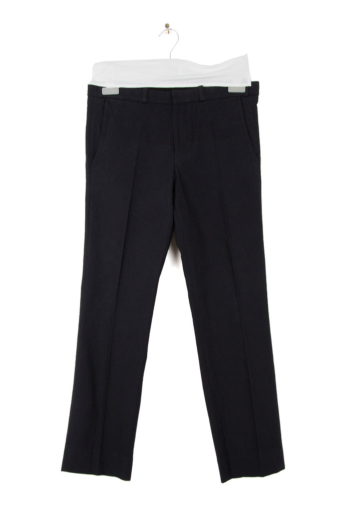 2010 A/W COTTON TROUSERS WITH WEAVING DETAILS