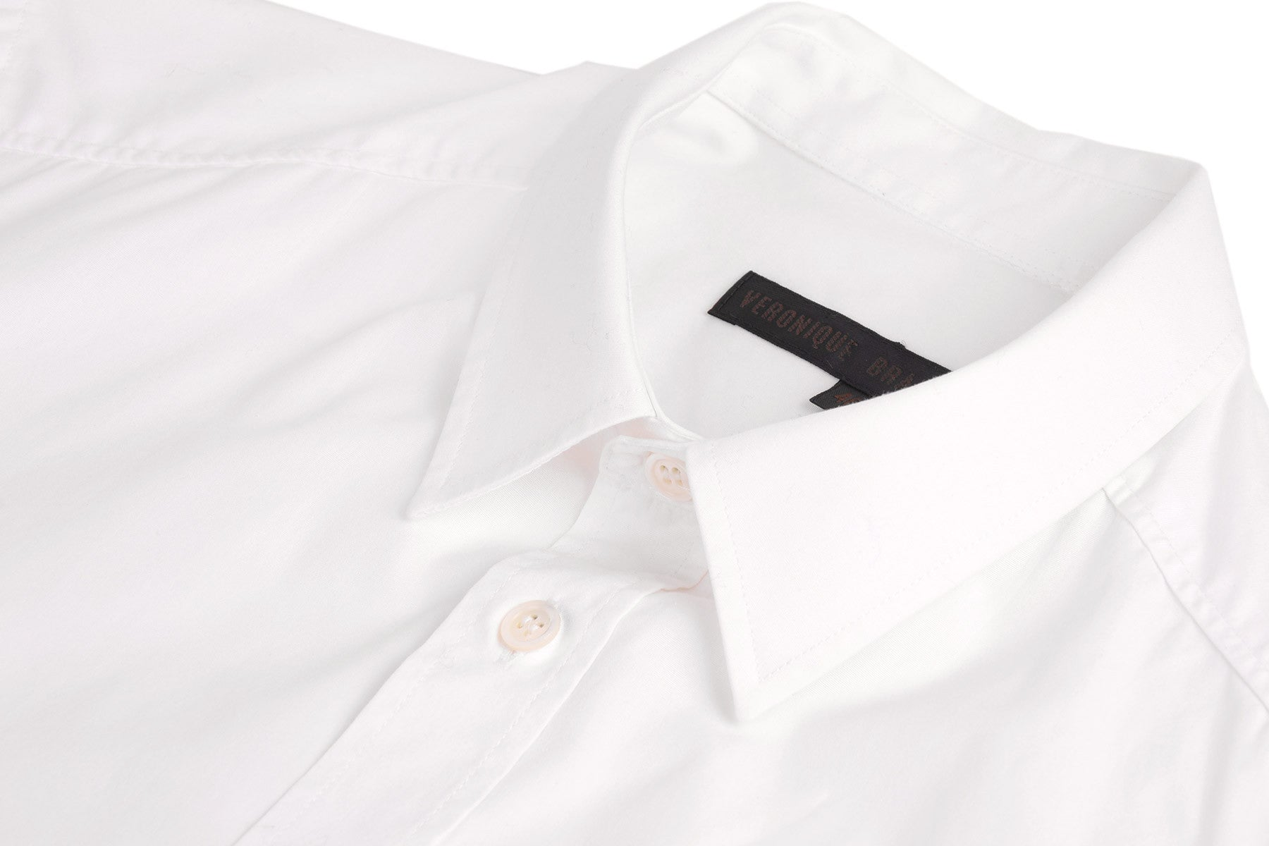 2005 A/W SHIRT WITH EMBROIDERED LOGO ON THE FRONT