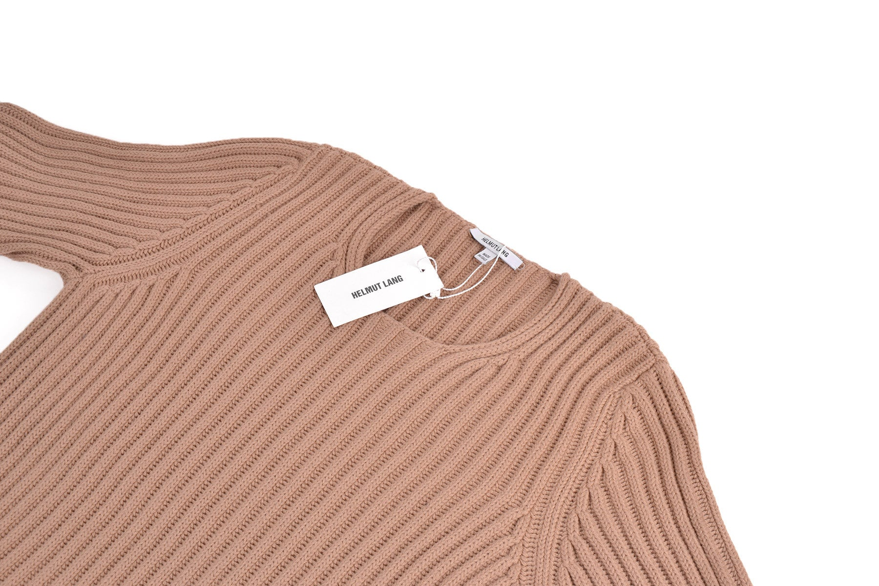 2004 A/W RIBBED MERINO WOOL SWEATER