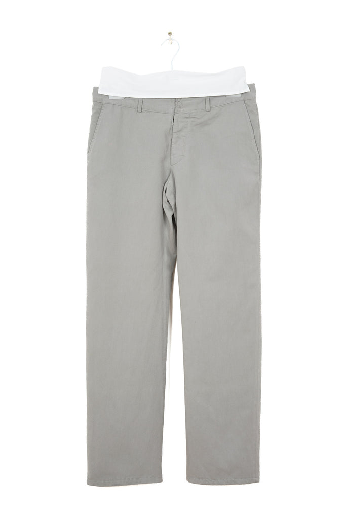2005 A/W ANATOMICAL TROUSERS WITH HORIZONTAL SEAM