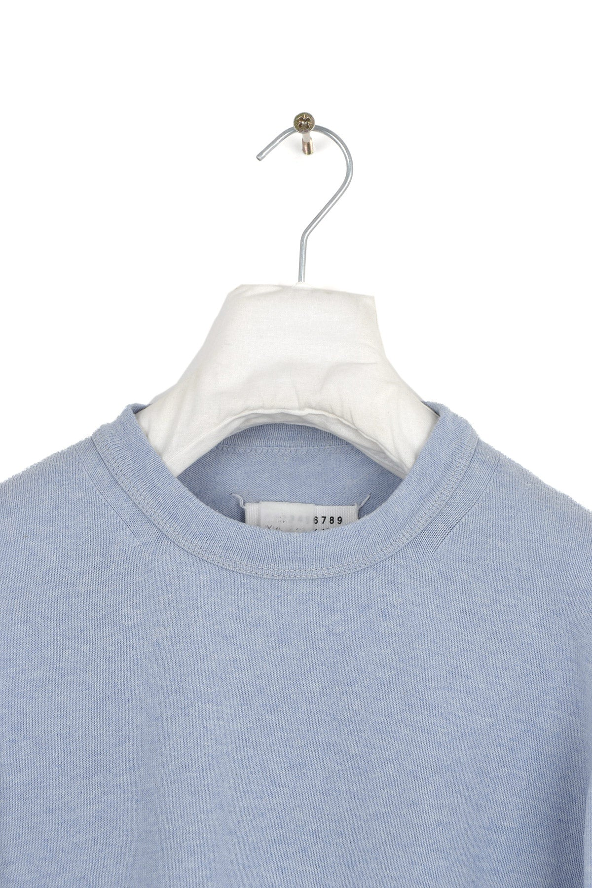 2003 S/S LIGHT MELANGE COTTON CREWNECK BY MISS DEANNA