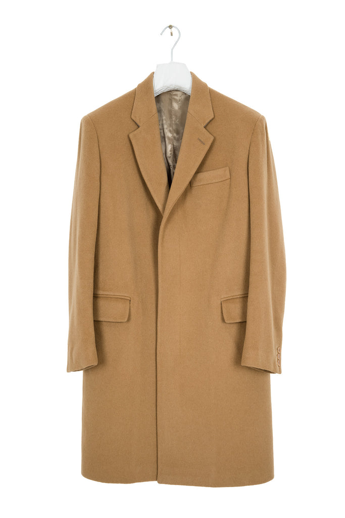 1999 A/W CHESTERFIELD COAT IN CAMEL WOOL