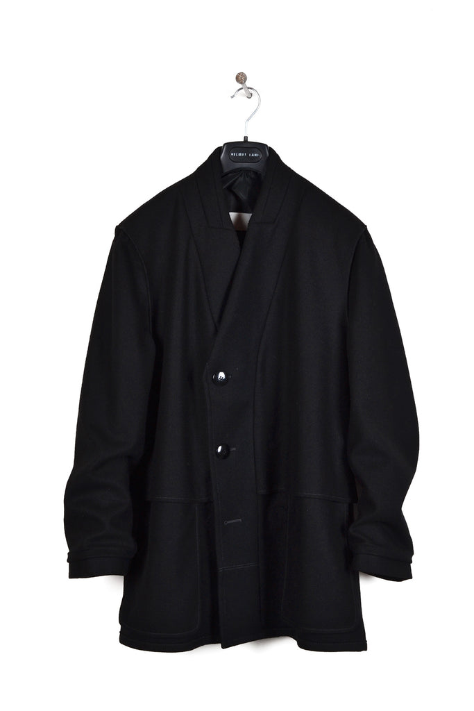 "2000 A/W ""PANO DI LANA"" OVERSIZED INSIDE-OUT COAT"